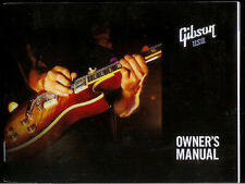 Very Rare Factory 2012 Les Paul Flying-V Gibson USA Guitar Owner's Manual