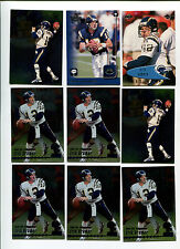 Erik Kramer 9 card lot North Carolina St. Wolfpack / San Diego Chargers