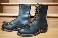 "RED WING Huntsman 8"" Black Klondike Boot LIMITED 2015 Factory Seconds"
