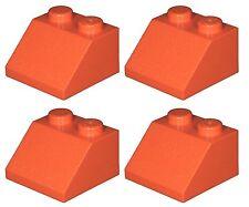Missing Lego Brick 3039 Orange x 4 Slope Brick 45 2 x 2
