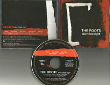 THE ROOTS Don't Feel right RADIO & CLEAN & INSTRUMENTAL PROMO DJ CD Single 2006