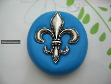 Fleur De Lis Silicone Mould/Mold Sugarcraft, Chocolate, Cupcakes, Cake Toppers