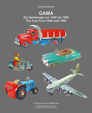 SCRAPBOOK: GAMA TOYS FROM 1946 TO 1968 GERMAN+ENGLISH LANGUAGE