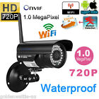 720P HD WIFI Wireless Night Vision Security Surveillance CCTV Outdoor IP Camera