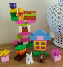 Retired Lego Duplo Disney Winnie The Pooh Garden Spring Play set Complete - 40pc