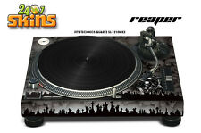 Skin Decal Sticker Wrap for Technics Quartz SL Turntable Pro Audio Mixer REAPR K
