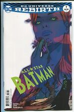 ALL-STAR BATMAN #7 - TULA LOTAY VARIANT COVER & ART - DC COMICS/2017