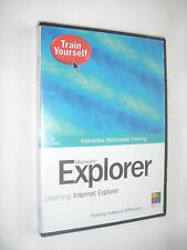 Train Yourself, Interactive Multimedia Training, Explorer, New & Sealed