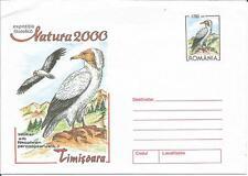 Rumanía Natura 2000 Timisoara Neophron Buitre Postal Stationery/Cubierta de prepago