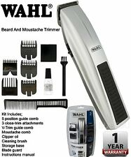 Wahl 5537-217 Performer Cordless Essentials Grooming Beard-Moustache Trimmer Kit
