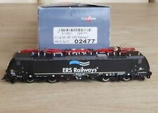 "Tillig 02477 TT Electric locomotive BR 189 ""ERS Railways"" MRCE,Ep.6 avec DSS UVP"