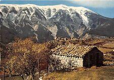 BR13227 Amandiers en fleurs avec le mont Ventoux sous la neige Les Bell   france