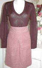 Noa Noa   Skirt  Empire-Rock Feincord Basic Wales Mood  Size : XS   Neu