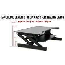 Ergonomic Height Adjustable Standing Desk Sit Stand Desk Desk Top Desk Riser