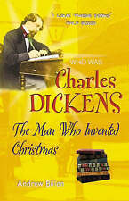 Dickens: The Man Who Invented Christmas (Who Was...?),GOOD Book