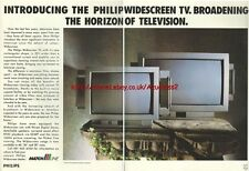 Philips Widescreen TV Match Line1992 Magazine Advert #2662