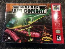 Army Men: Air Combat (Nintendo 64, 2000) N64! Factory SEALED! New!! Exc cnd!