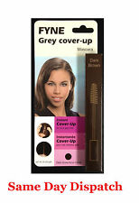 Cover Your Grey Hair Gray Hair Colour Touch-ups Men/Women DARK BROWN Mascara