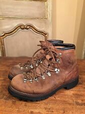 Vintage Vasque Mens Mountaineering Hiking Climbing Boots Size 9 M