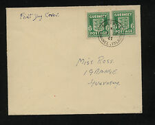 Guernsey    N1  (2)  on cover   1941     APL0302