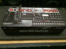 Elektron Analog Four 4 Voice Synthesizer,Synth module  in box //ARMENS