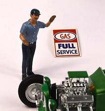 ERIC GAS PETROL FIGURE AMERICAN DIORAMA 77747 1:24 ACCESSORY CAR NOT INCLUDED