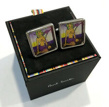 Paul Smith Cufflinks Flickers NAKED LADY on Desert Island T-BAR CUFFLINKS