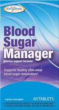 Blood Sugar Manager - 60 Tablets - Enzymatic Therapy