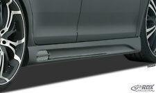 RDX Seitenschweller Audi A4 B8 8K Seiten Schweller Set Spoiler Leisten ABS SL193