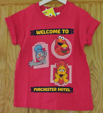 New Furchester Hotel 100% cotton girls top Pink 3-4