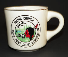 Viking Council BSA Boy Scouts America Mug Coffee Cup Many Point Reservation