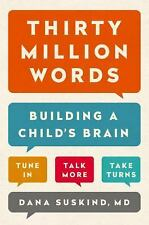 Thirty Million Words : Building a Child's Brain AUDIOBOOK CD (2015)BOOKS ON TAPE