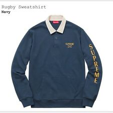 Supreme rugby Sweatshirt Navy Large