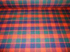 Gow Tartan Fabric 100%  Wool Gow Modern Made In Scotland By The Metre