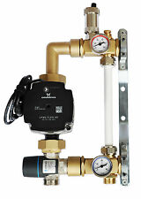 Grundfos Festwertregelset für Fußbodenheizung mit Pumpe 25/70 Kl A. Afriso M.V.