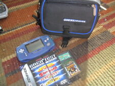 Nintendo Game Boy Gameboy Advance Handheld System AGB-001 With 3 Games Nice!