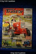 Oldtimer Traktor 11-12/10 Güldner G 60/75 Steyr 180 a Kramer KL 200 MWM KD 215 D