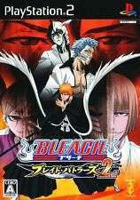 Used PS2 Bleach Blade Battlers 2nd Japan Import (Free Shipping)