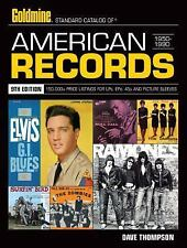 GOLDMINE STANDARD CATALOG OF AMERICAN RECORDS (9 - DAVE THOMPSON (PAPERBACK) NEW