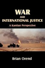 War and International Justice: A Kantian Perspective-ExLibrary