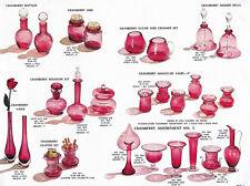 Pilgrim Glass, 1966-1972 - Four Catalog Reprints