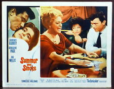 Poker Laurence Harvey ORIGINAL 1961 Lobby Card Summer and Smoke