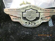Harley-Davidson 95th Anniversary Sterling Silver Hat Pin 97831-98V Rare