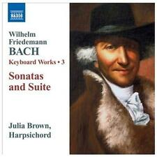 Bach: Keyboard Works: Vol. 3 - Sonatas and Suites, New Music