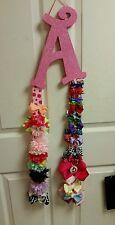 Custom made Little girls Hair bow holder.