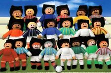Woolly World Cup Football Knitting Pattern (20 home & away kits, goal posts, )