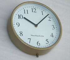 VINTAGE MARINE RADIO CO. SHIPS ENGINE ROOM MARINE SLAVE BRIDGE CLOCK BOAT WATCH