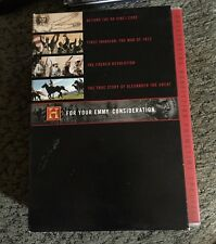 The History Channel: For Your Emmy Consideration (DVD, 2005) 8-Disc Box Set