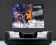 STAR WARS MOVIE POSTER EMPIRE STRIKES BACK GIANT ART PRINT PICTURE LARGE