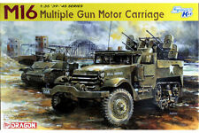 DRAGON 6381 1/35 U.S M16 Multiple Gun Motor Carriage Smart Kit